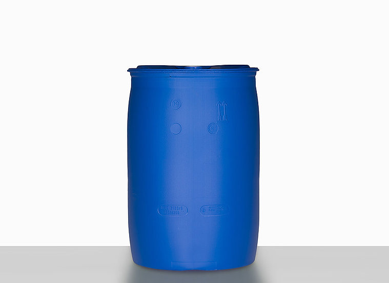 Plastic tight head drum, 120,0 liter and UN Approval