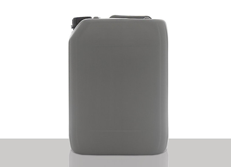 Recycled PCR plastic canister, 10,0 liter