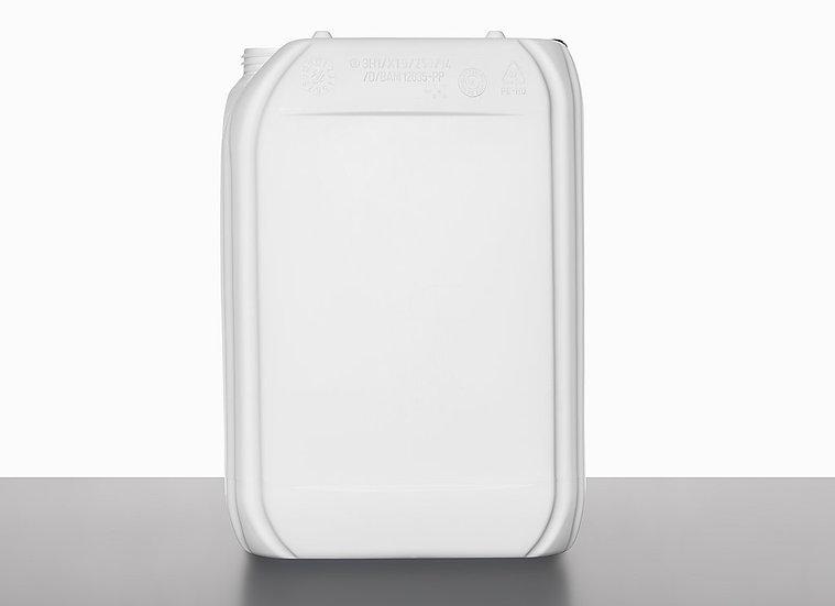 plastic canister, 25,0 liter