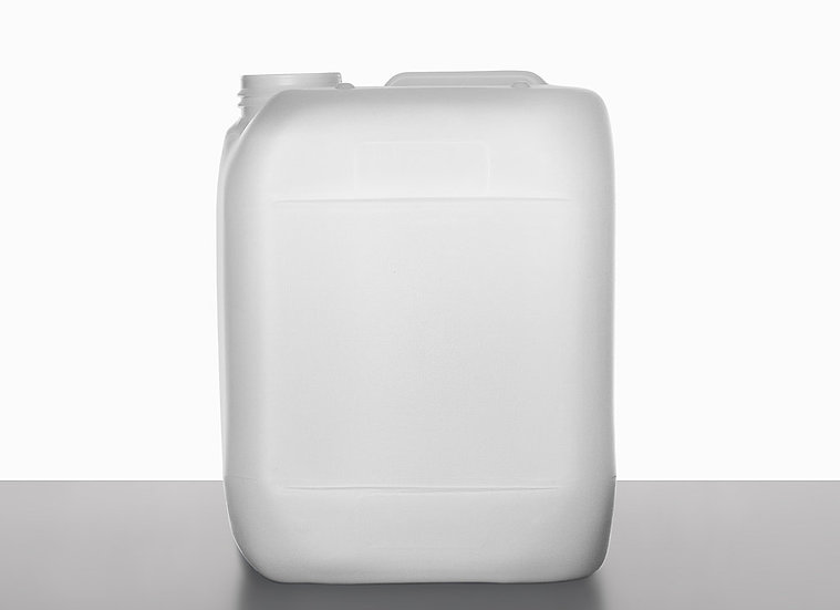 plastic canister, 5,0 liter
