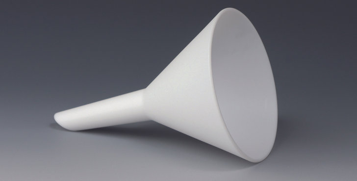 BOLA Funnels, PTFE