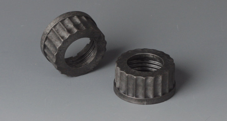 BOLA Screw Caps with Aperture, PPS