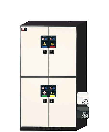 Cabinet for chemicals CS-CLASSIC-MultiRisk modelCS.195.105.MM.4WD
