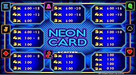 Erron - Neon Card Upper screen