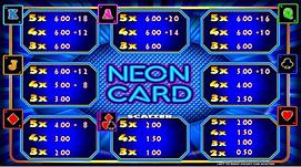 Erron - Neon Card Upper screen