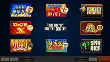Erron - Hot Dice play screen