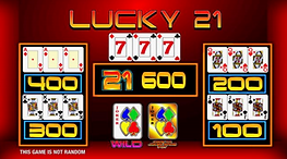 Erron - Lucky 21 Upper screen