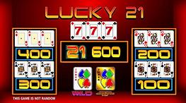 Erron - Lucky 21 Upper screen