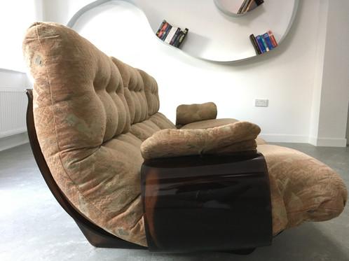 1960 Vintage Retro Unique Design Ligne Roset Marsala sofa canape ...