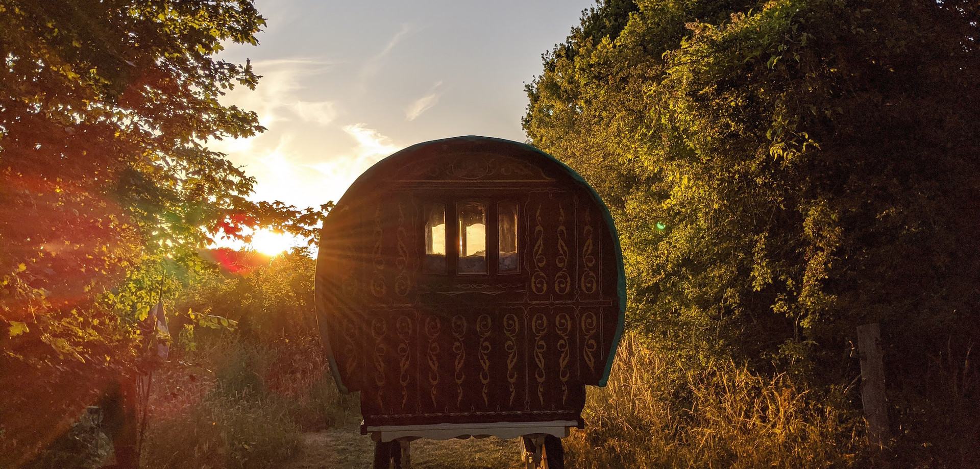 Stay in our Gypsy Wagon