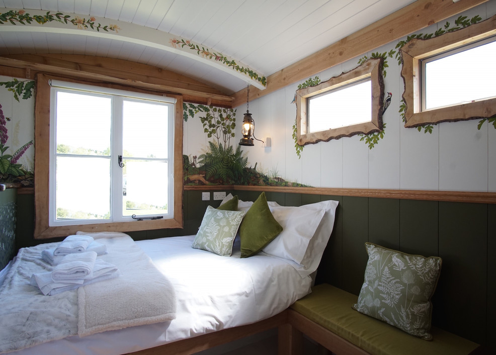 Get back to nature in your own Woodland Hut