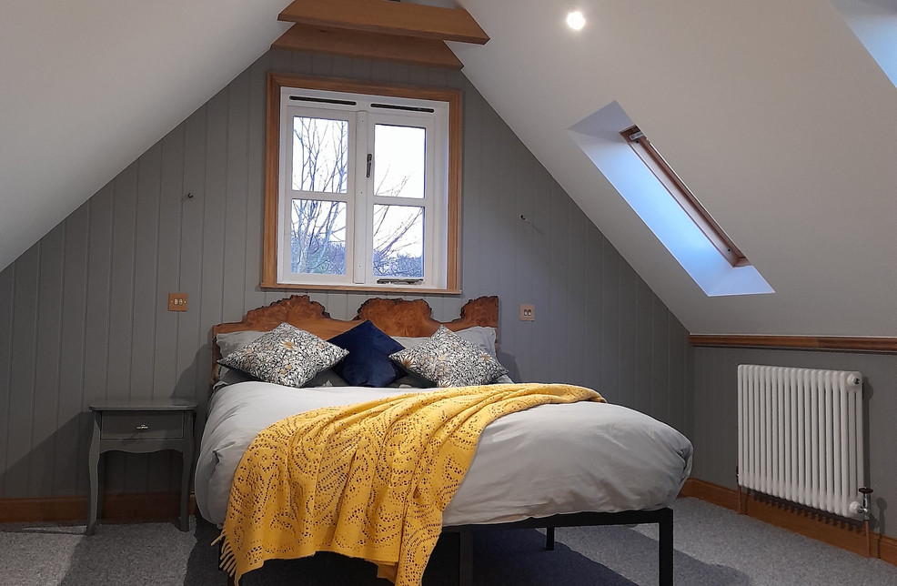 Spacious and stylish bedrooms