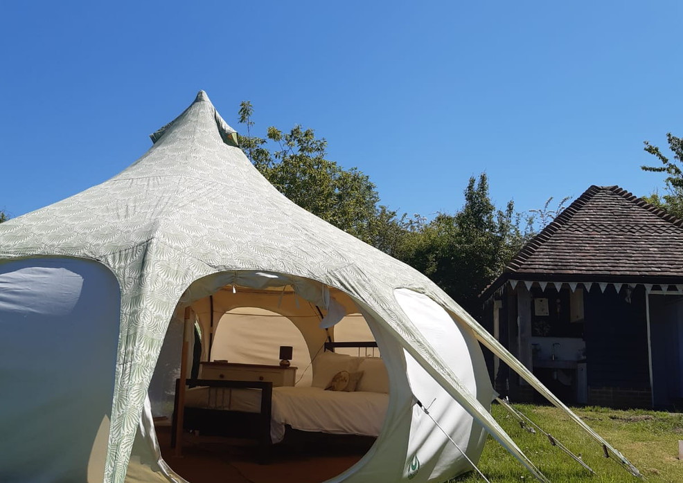The Beautiful Belle Tent