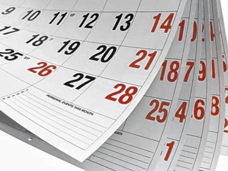 Major Business Events Calendar for 2019