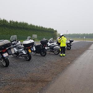 3de Begeleide Tocht GS Bikers