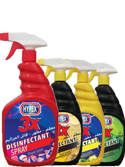 3X Disinfectant Spray