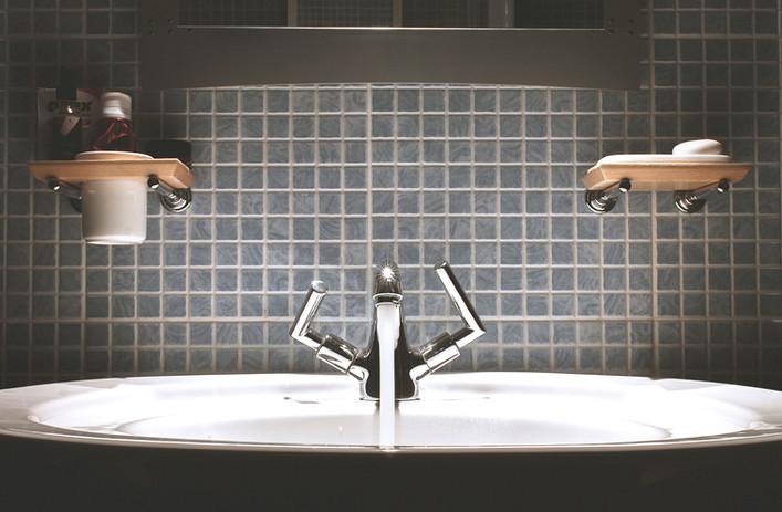 Moderne Wasch- oder Spülbecken Fixture