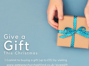 Give a Gift... is back!