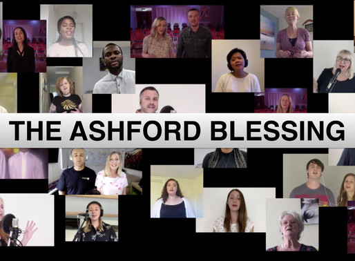 The Ashford Blessing - Churches sing 'The Blessing' over Ashford