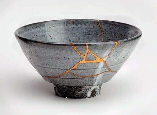Kintsugi - 'golden repair'