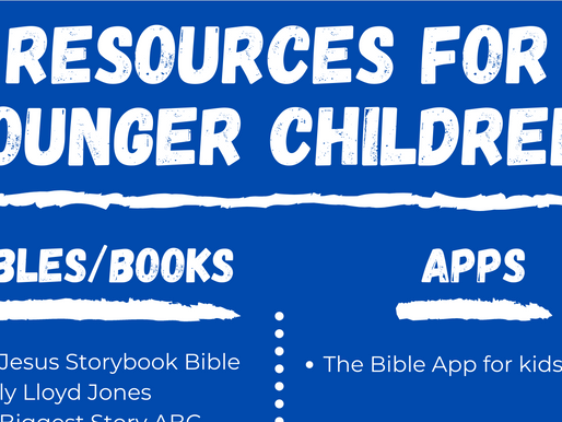 Younger children resource ideas for bibles, books, media, worship!