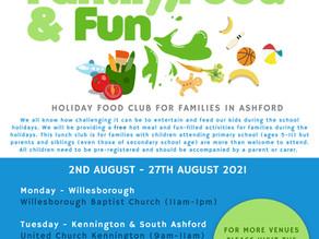 Holiday Food Club in Ashford - Family, Food & Fun