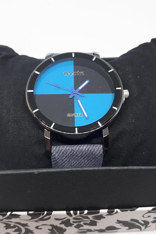 Ladies blue/black watch