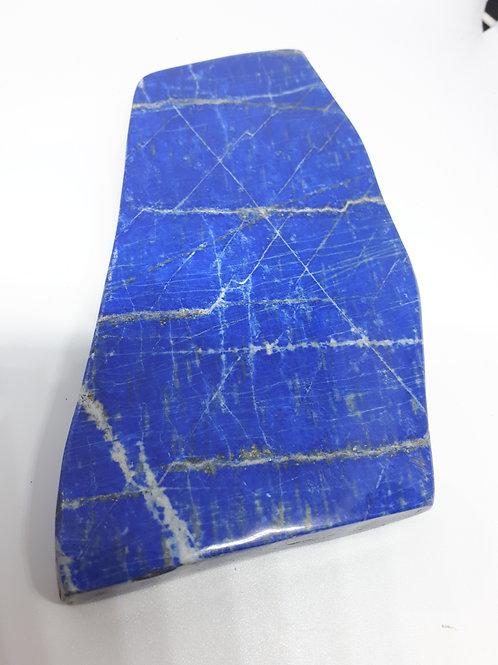 Lapis lazuli slice