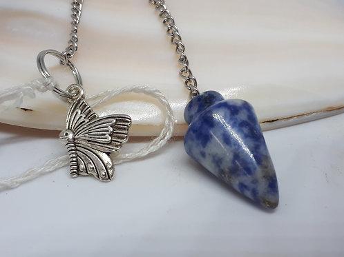 Gemstone pendulum