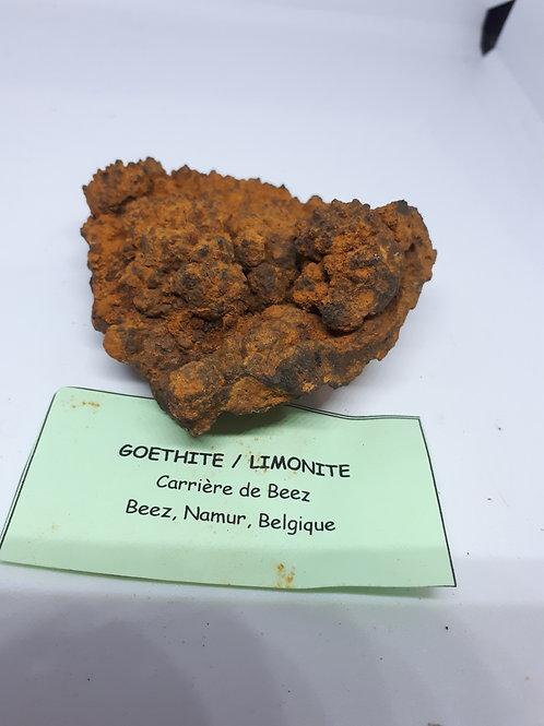 Goethite/limonite piece
