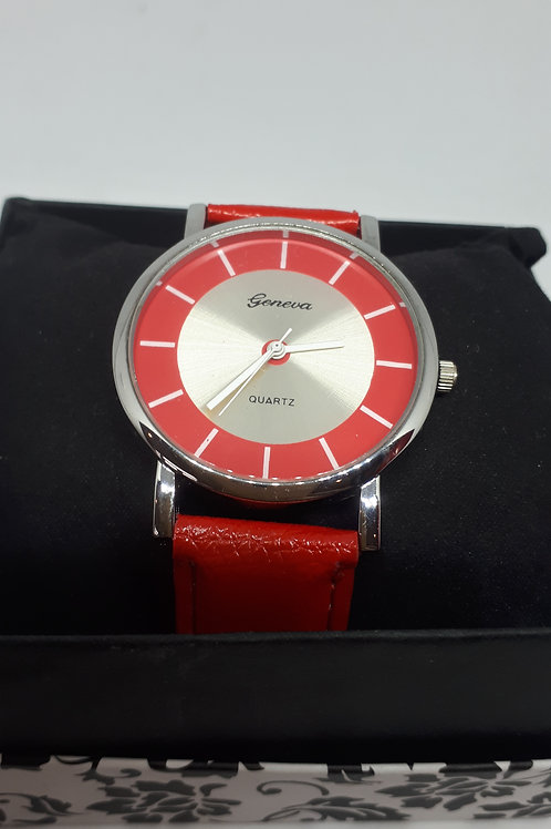 Ladies red watch