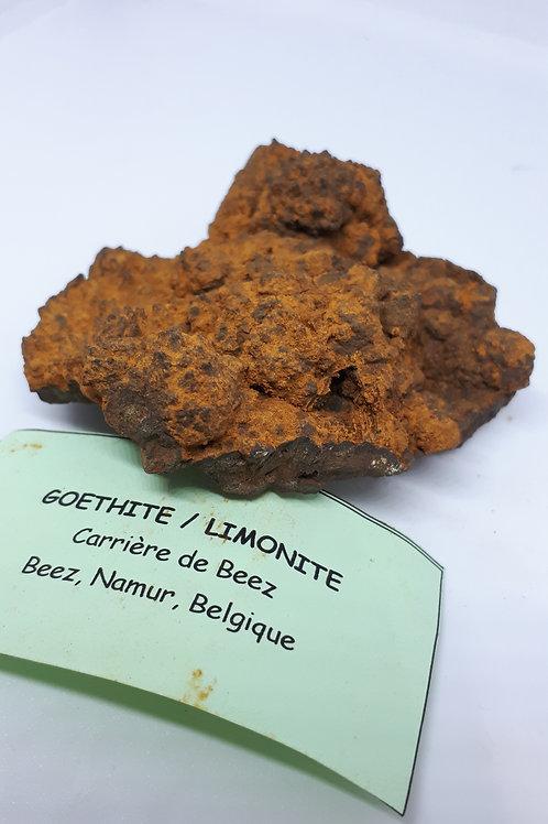 Goethite/limonite raw piece