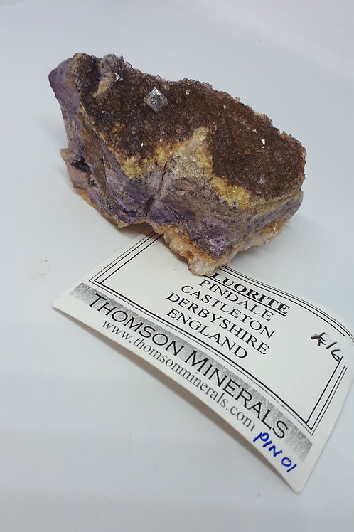 Fluorite (Blue John) raw piece