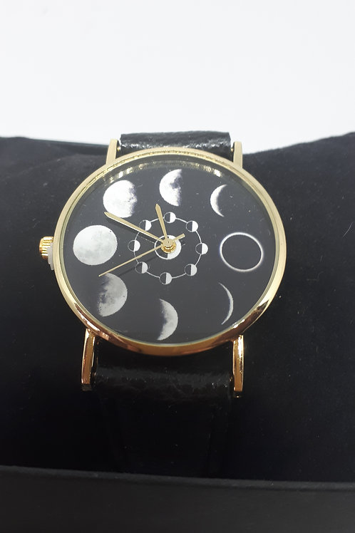 Ladies phases of the moon watch
