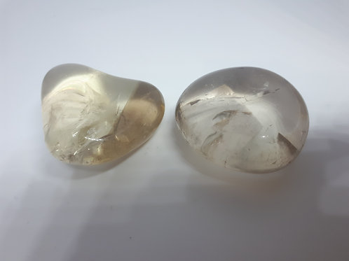 Natural Citrine large tumblestones ( only 1)
