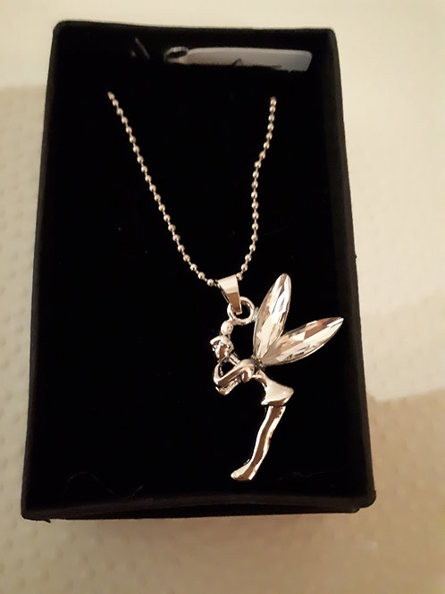 Silver-plated Fairy Necklace