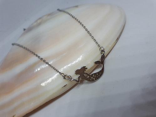 Nickel free mermaid necklace