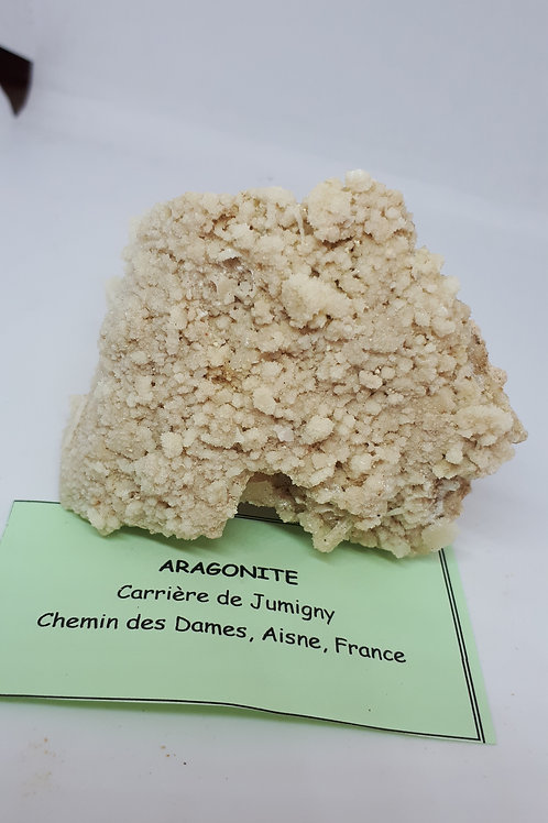 Aragonite raw piece