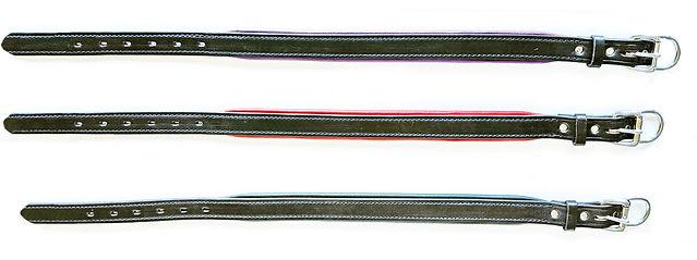No Name 3 horizontal black straps w buck