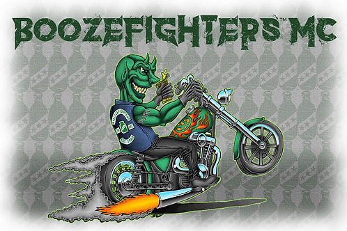 "'Booze-cifer' Poster (19"" x 13"")"