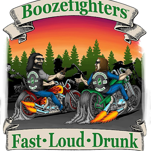 "'Fast Loud Drunk' Poster (13"" x 19"")"