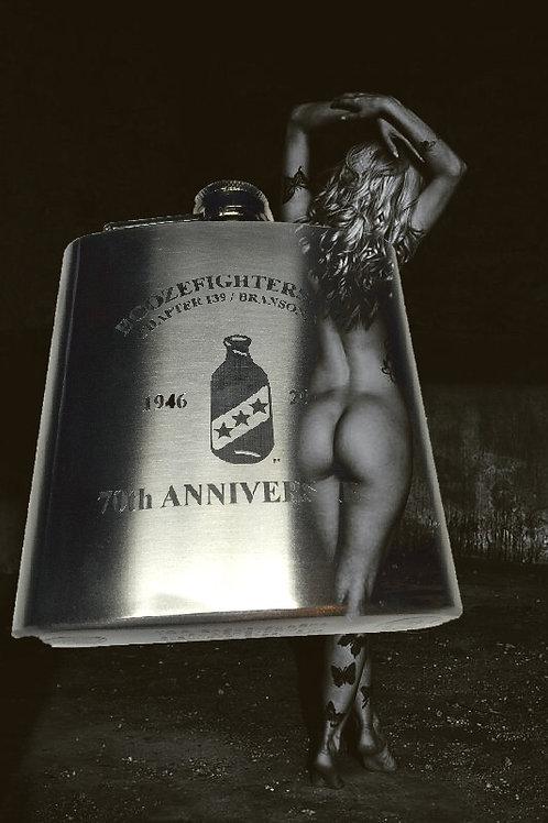 70th Anniversary Flask