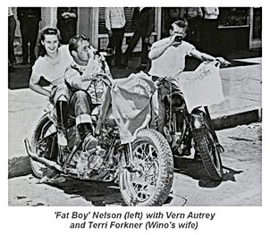 Vern Autrey, Fat Boy Nelson, Terri Forkner