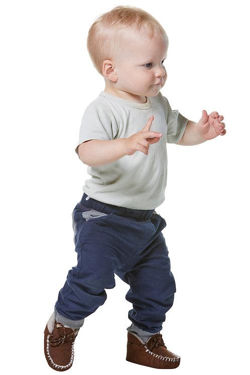 Kinder/Baby-Fell-Pantoffel