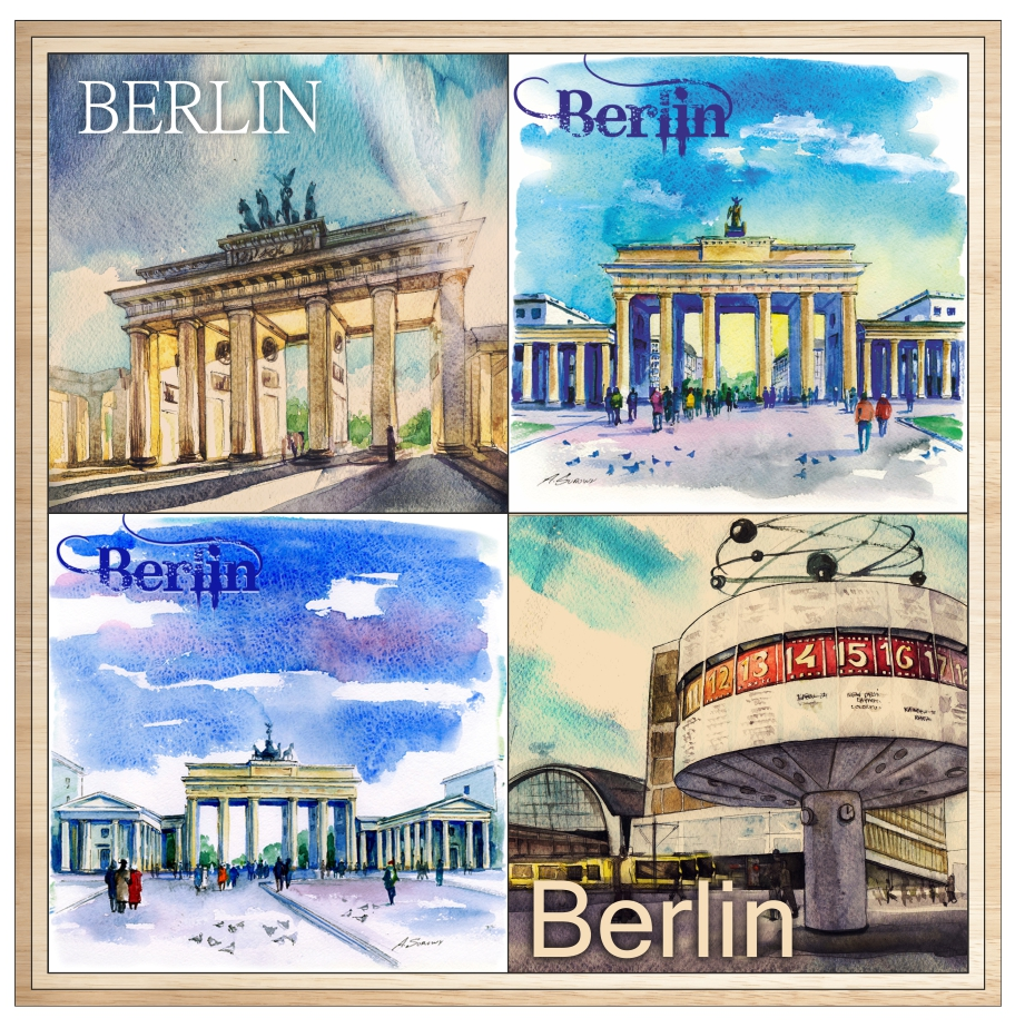 Сувениры Берлина