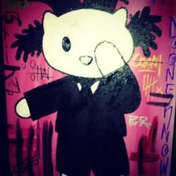 Hello Basquiat Kitty