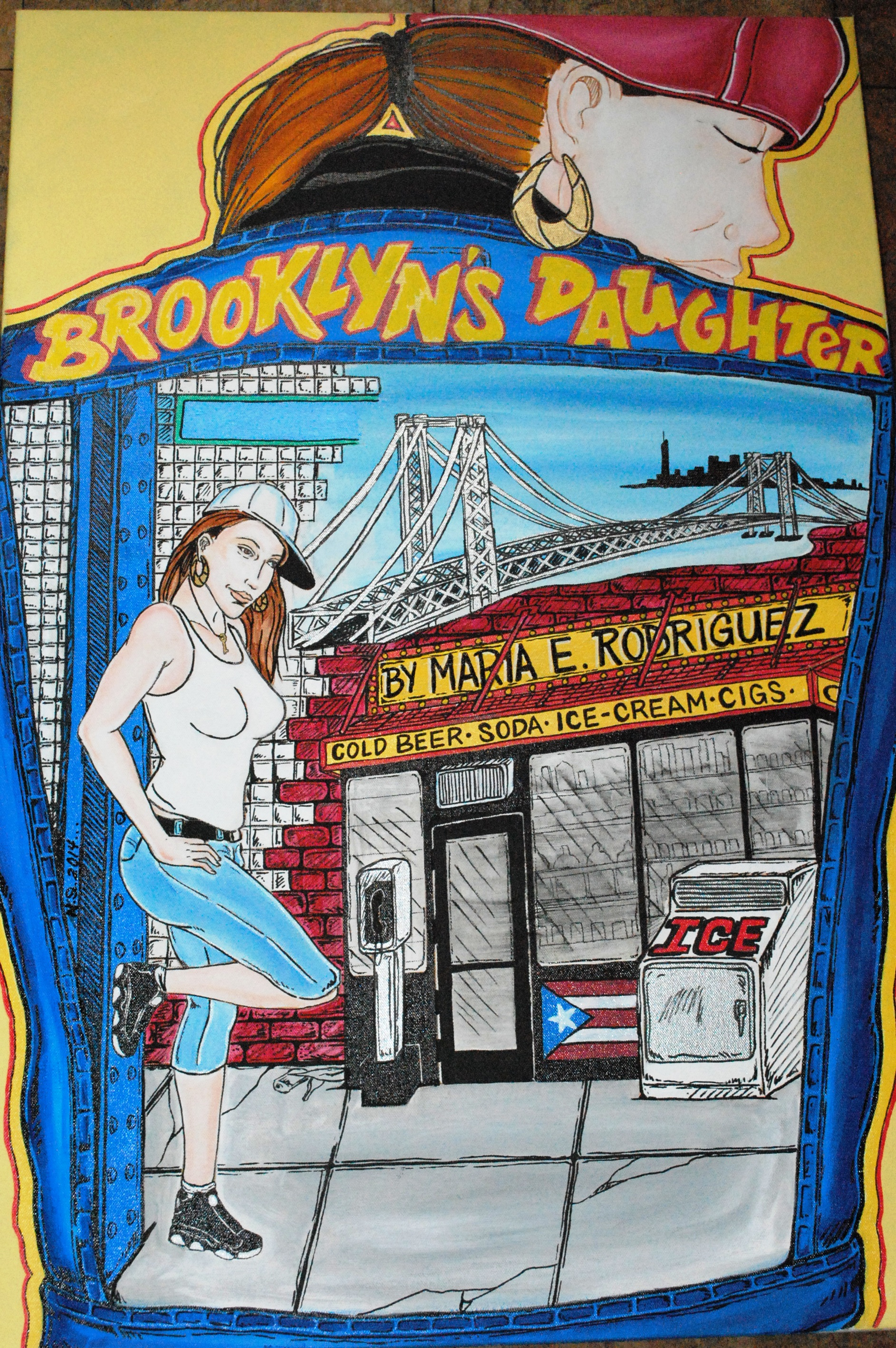 "Book Cover ""Brooklyn's daughter"""