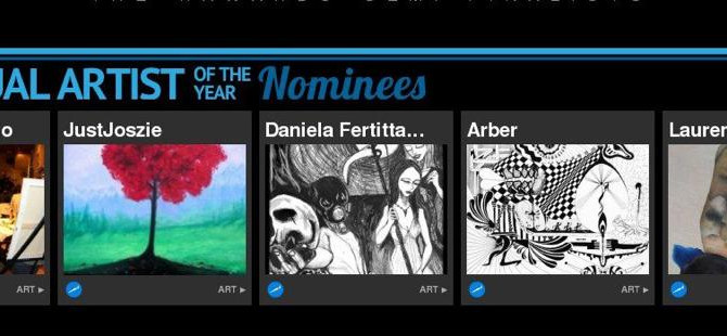 Nelson was nominated RAW Visual Artist of the year in 2012 & 2013