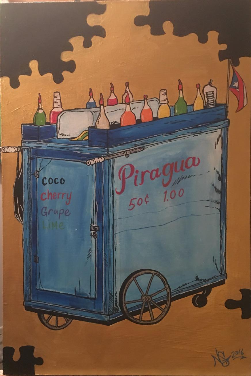 Piragua truck