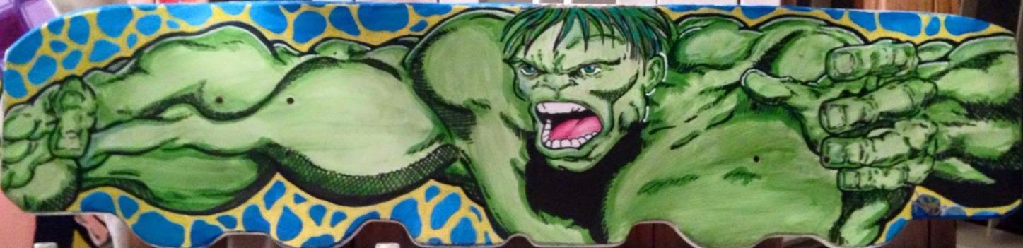 Hulk Skateboard